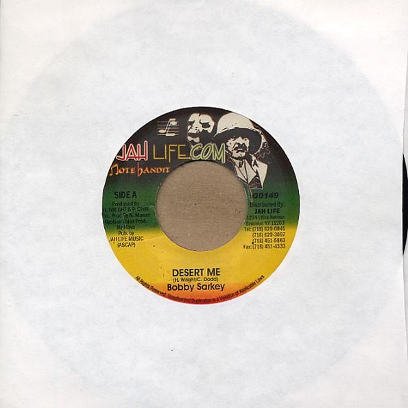 Bobby Sarkey : Desert Me | Single / 7inch / 45T  |  Oldies / Classics