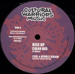 Colour Red : Rise Up | Maxi / 10inch / 12inch  |  UK