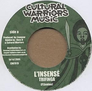 Trifinga : L'insensé | Single / 7inch / 45T  |  UK