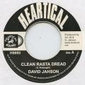 David Jahson : Clean Rasta Dread   Single / 7inch / 45T     Oldies / Classics