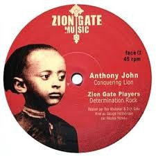 Anthony John : Conquering Lion | Maxi / 10inch / 12inch  |  UK