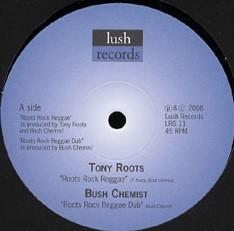 Tony Roots : Roots Rock Reggae | Maxi / 10inch / 12inch  |  UK