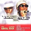Vybz Kartel & Elephant Man : Toe To Toe (vol.6) | LP / 33T  |  Dancehall / Nu-roots