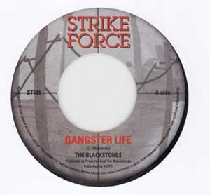 The Blackstones : Gangster Life | Single / 7inch / 45T  |  Oldies / Classics