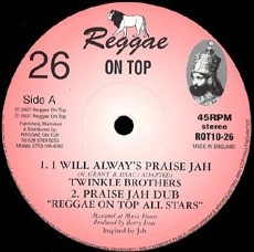 Twinkle Brothers : I Will Always Praise Jah   Maxi / 10inch / 12inch     UK