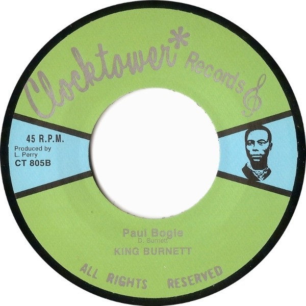 King Burnett : Paul Bogle | Single / 7inch / 45T  |  Oldies / Classics