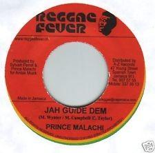 Prince Malachi : Jah Guide Dem | Single / 7inch / 45T  |  Dancehall / Nu-roots