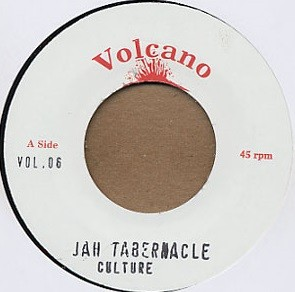 Culture : Jah Tabernacle | Single / 7inch / 45T  |  Dancehall / Nu-roots