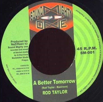 Rod Taylor : A Better Tomorrow | Single / 7inch / 45T  |  Dancehall / Nu-roots