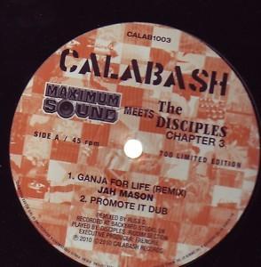 Jah Mason : Ganja For Life ( Remix ) | Maxi / 10inch / 12inch  |  UK