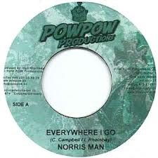 Norris Man : Everywhere I Go | Single / 7inch / 45T  |  Dancehall / Nu-roots