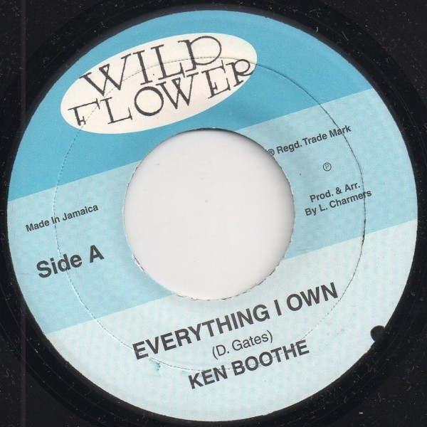 Ken Boothe : Everything I Own | Single / 7inch / 45T  |  Oldies / Classics