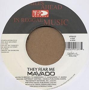 Mavado : They Fear Me