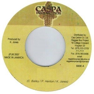 Ninja Ford Feat Bounty Killer : Defend My Own   Single / 7inch / 45T     Dancehall / Nu-roots