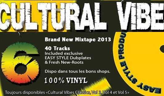 Easy Style Sound System : Cultural Vibes 6   CD     Dancehall / Nu-roots