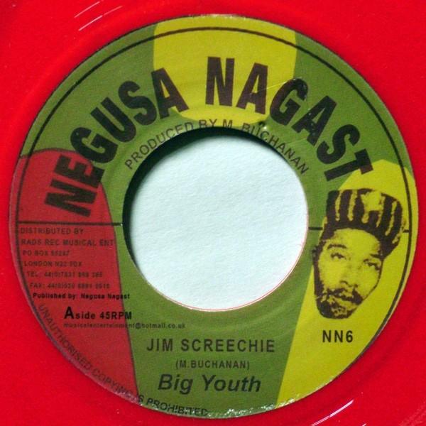 Big Youth : Jim Screechiee | Single / 7inch / 45T  |  Oldies / Classics