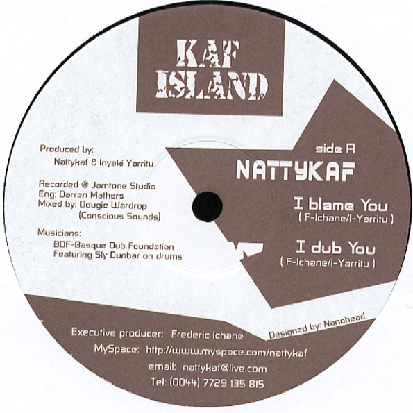 Natty Kaf : I Blame You   Maxi / 10inch / 12inch     UK
