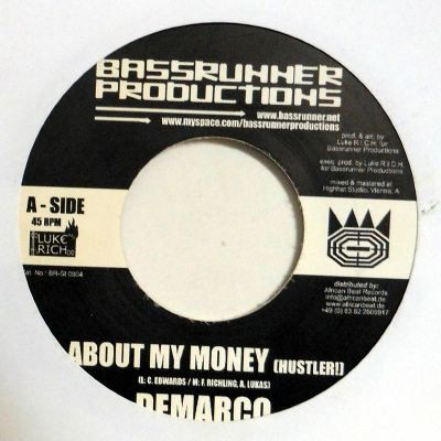 Demarco : About The Money | Single / 7inch / 45T  |  Dancehall / Nu-roots