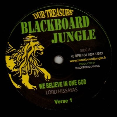 Lord Hissayas : We Beleive In One God | Maxi / 10inch / 12inch  |  UK