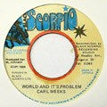 Carl Meeks : World And It's Problem | Collector / Original press  |  Collectors