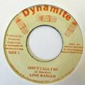 Lone Ranger : Don't Call I So   Collector / Original press     Collectors
