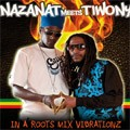 Nazanat Meets Tiwony : In A Roots Mix Vibrationz | CD  |  Dancehall / Nu-roots