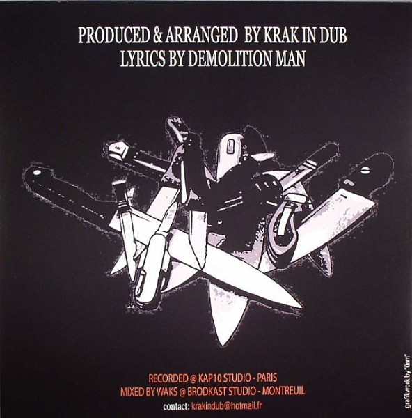 Demolition Man Feat. Krak In Dub : Slow Motion | Maxi / 10inch / 12inch  |  Jungle / Dubstep