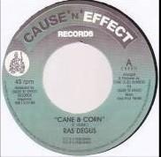 Ras Degus : Cane & Corn   Single / 7inch / 45T     UK