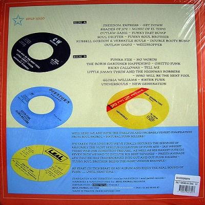 Various : Natural Funk Killas | LP / 33T  |  Afro / Funk / Latin