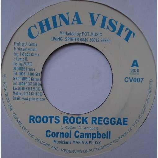 Cornel Campbell : Roots Rock Reggae | Single / 7inch / 45T  |  UK
