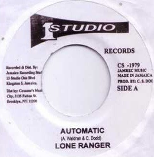 Lone Ranger : Automatic   Single / 7inch / 45T     Oldies / Classics