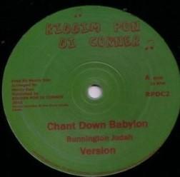 Bunnington Judah : Chant Down Babylon   Maxi / 10inch / 12inch     UK