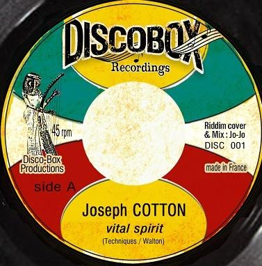 Joseph Cotton : Vital Spirit | Single / 7inch / 45T  |  Dancehall / Nu-roots