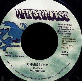 Pad Anthony : Charge Dem   Single / 7inch / 45T     Oldies / Classics