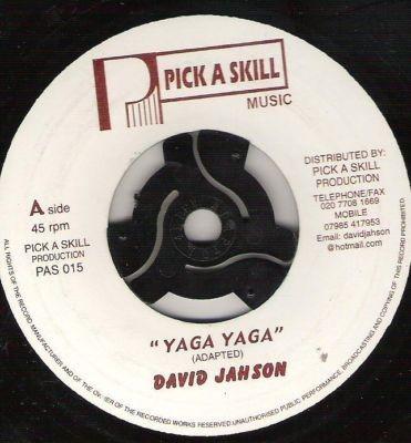 David Jahson : Yaga Yaga   Single / 7inch / 45T     Oldies / Classics