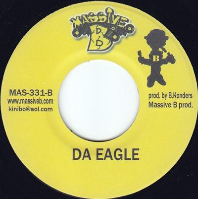 Jr Cat : Da Eagle | Single / 7inch / 45T  |  Dancehall / Nu-roots