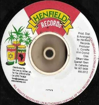 Luciano : In The City | Single / 7inch / 45T  |  Dancehall / Nu-roots