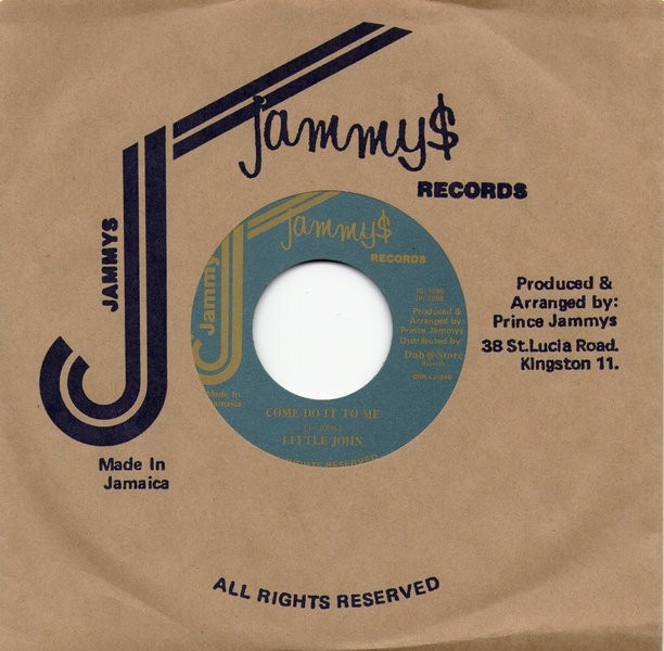 Little John : Come Do It To Me | Single / 7inch / 45T  |  Oldies / Classics