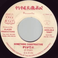 Piper : Something Constructive | Single / 7inch / 45T  |  Oldies / Classics