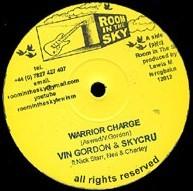 Vin Gordon & Skycru : Warrior Charge | Maxi / 10inch / 12inch  |  UK