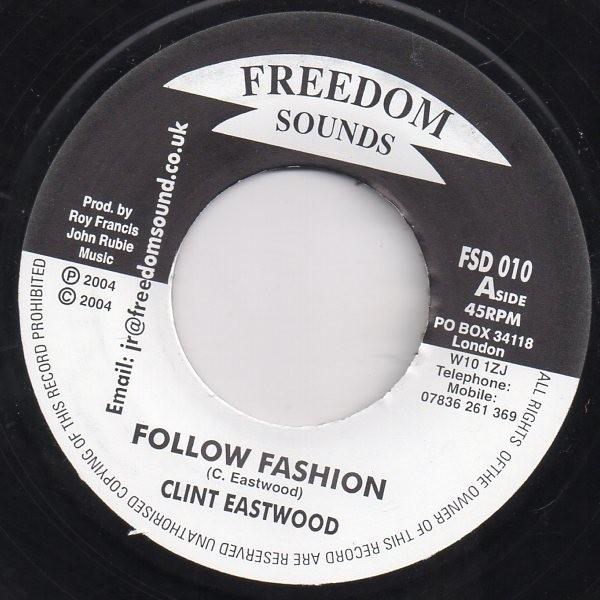 Clint Eastwood : Follow Fashion | Single / 7inch / 45T  |  Oldies / Classics