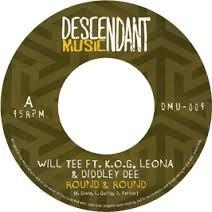 Will Tee Ft. K.o.g, Leona & Diddley : Deeround & Round | Single / 7inch / 45T  |  UK