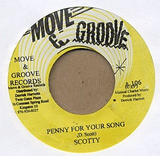 Scotty : Penny For Your Song | Single / 7inch / 45T  |  Oldies / Classics