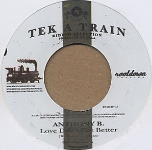 Anthony B : Love Don't Get Better | Single / 7inch / 45T  |  Dancehall / Nu-roots