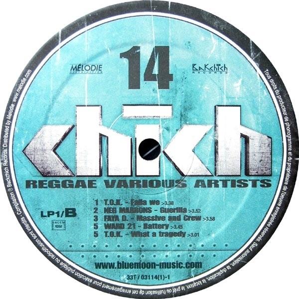 Various Artists : Chich  Vol 14   LP / 33T     Dancehall / Nu-roots