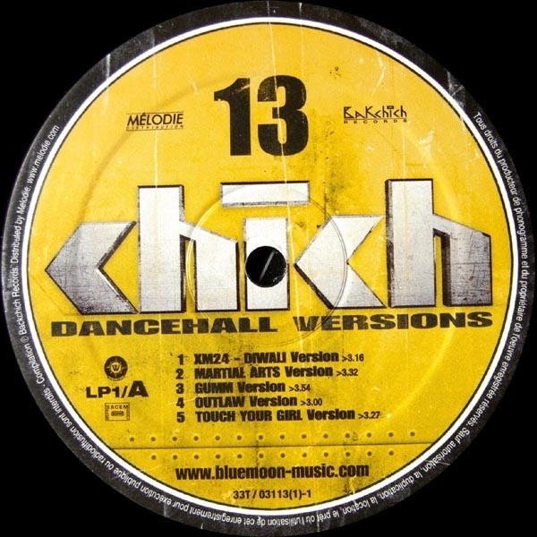 Various Artists : Chich Vol 13   LP / 33T     Dancehall / Nu-roots