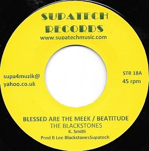 The Blackstones : Blessed Are The Meek / Beatitude | Single / 7inch / 45T  |  Oldies / Classics