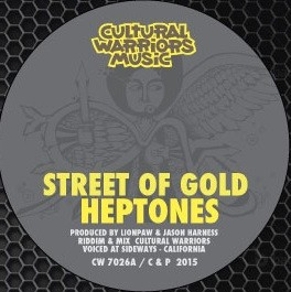 The Heptones - Street Of Gold : Street Of Gold | Single / 7inch / 45T  |  UK