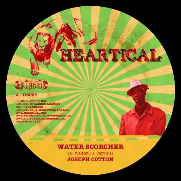 Joseph Cotton : Water Scorcher | Single / 7inch / 45T  |  Dancehall / Nu-roots