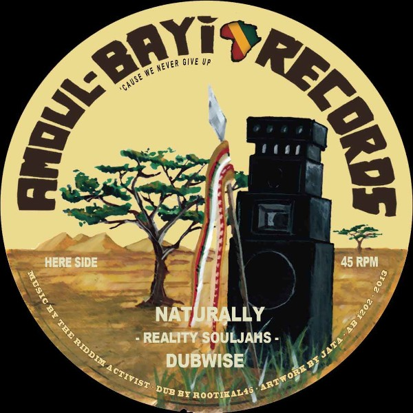 Reality Souljahs : Naturally | Maxi / 10inch / 12inch  |  UK